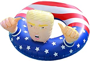NINOSTAR Pool Float Donald Trump Best Inflatable for The Summer, Fun Swimming Floats for Pool Party (ENV-5-WDN)