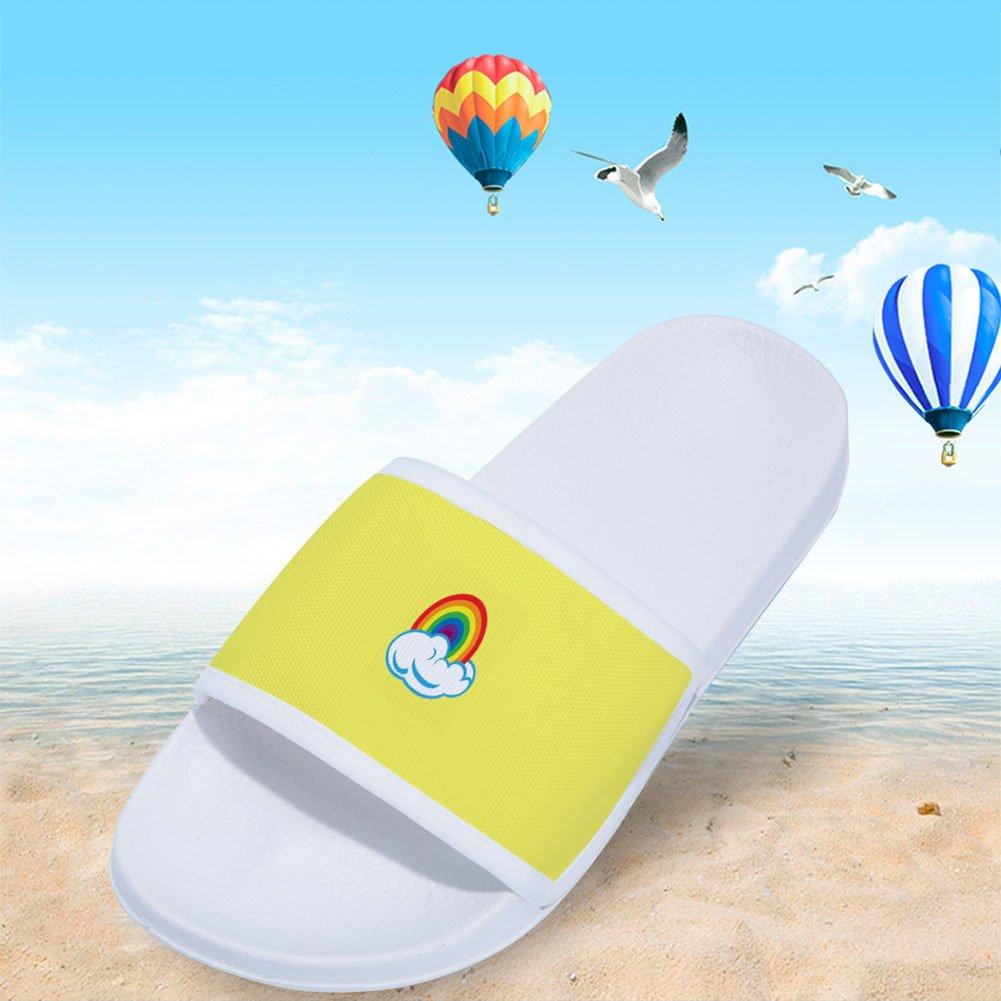 Chad Gold Slides Sandals for Boys Girls Comfortable Soft Sole slipper Shoes Little Kid//Big Kid