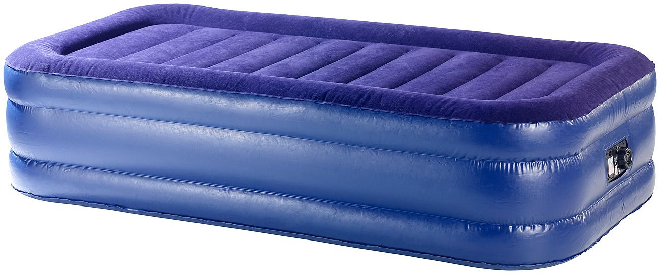Semptec Urban Survival Technology Aufblasbares Bett: Selbst aufblasendes Luftbett, Doppel-Luftbett (Luftmatrazen)