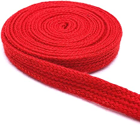 Cuerda plana de algodón de 10 metros de ancho y 10 mm de grosor ...