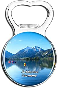 Schliersee Lake Germany Fridge Magnet Bottle Opener Beer City Travel Souvenir Collection Gift Strong Refrigerator Magnet