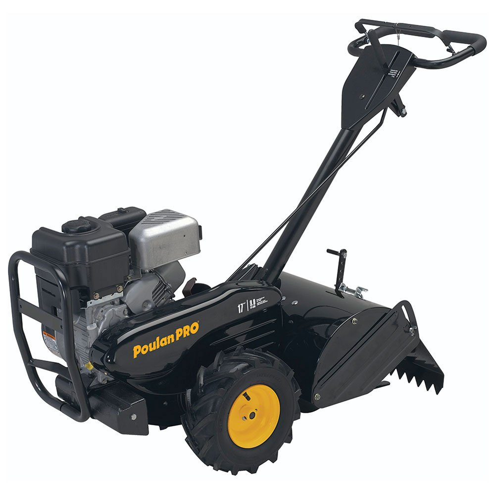 Poulan Pro 960920037 LCT 208cc Rear Tine Tiller, 17'' 46000 Outdoor Power Issue - Over LTL Weight Max