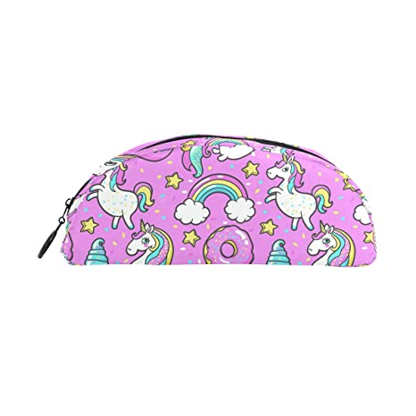 BONIPE - Estuche para lápices, diseño de unicornio, para maquillaje