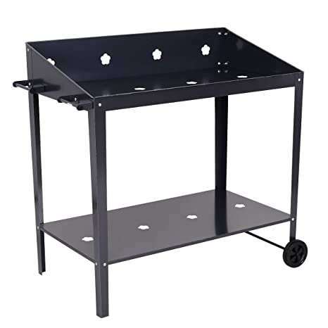 Amazon Com Colibrox 40 Raised Garden Bed Potting Bench Work