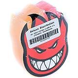 Spitfire BigHead Swirl Skate Wax Orange Pink