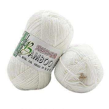 Tefamore 100 Bambus Baumwolle Strickgarn Warme Weiche Naturliche