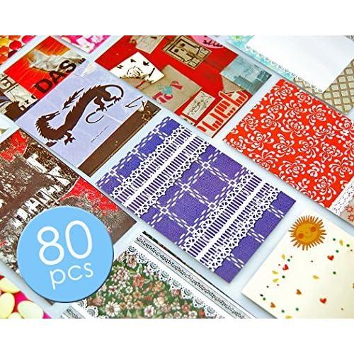 achat original vente limitée ramasser DSstyles Photo Autocollant 80 Feuilles Coloré Bordures Films ...