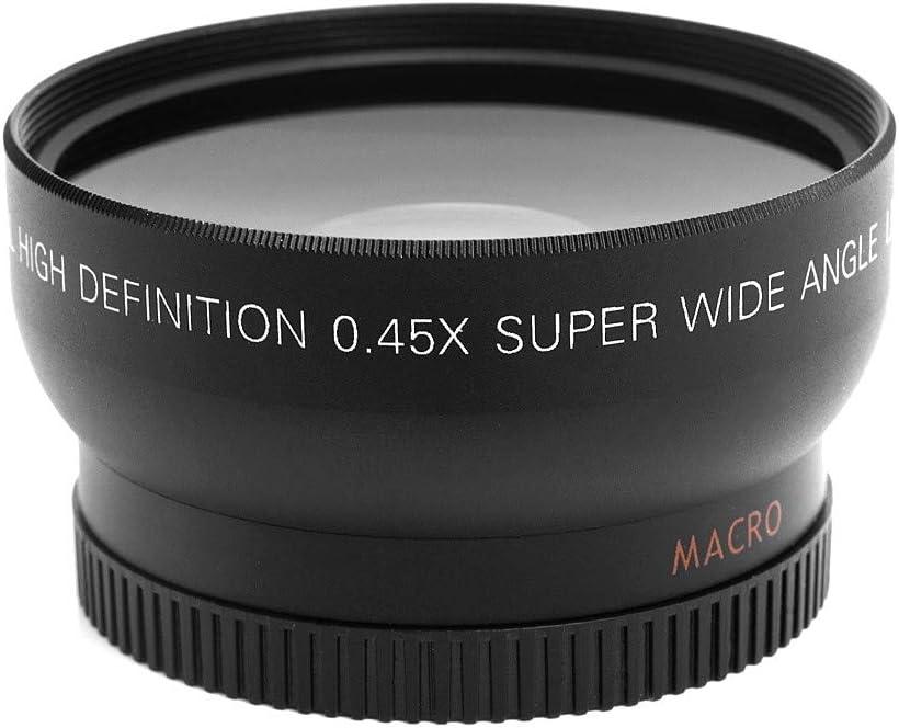 Joyshopping HD 52MM 0.45x Wide Angle Lens with Macro Lens for Canon Nikon Sony Pentax 52MM DSLR Camera