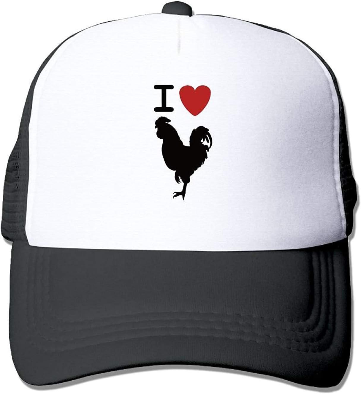 I Love Cock Retro Slogan Unisex Mesh Hat Baseball Gorras Style ...