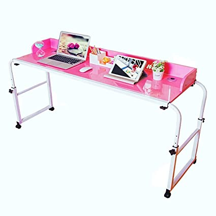 Tcatec Adjustable 1 2m Over Bed Table Computer Table Desk