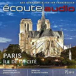 Écoute Audio - L'Île de la Cité. 7/2011