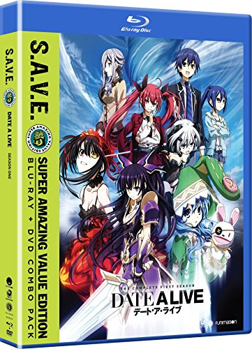 Date A Live 2: The Complete First Season [Blu-ray] (Best Japanese Live Action Series)