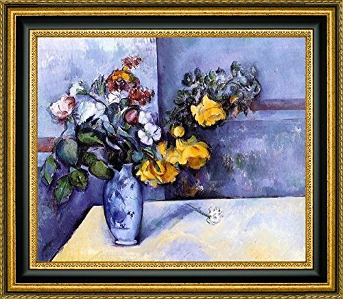 Flowers in a Vase by Paul Cezanne - 12