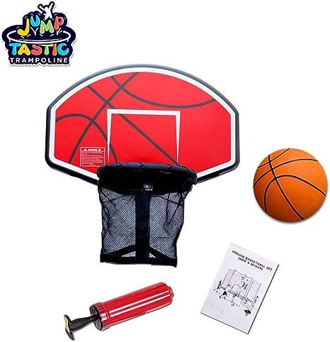 Kugo Sports - Juego de Cama elástica de Baloncesto con Bomba y ...