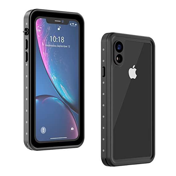 Amazon.com: Carcasa impermeable para iPhone XR, de cuerpo ...