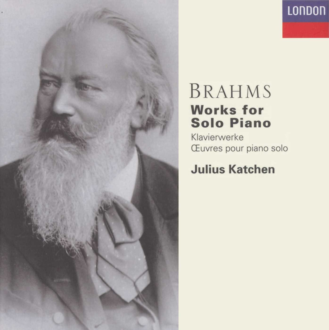 Brahms: Solo Piano Works by Decca