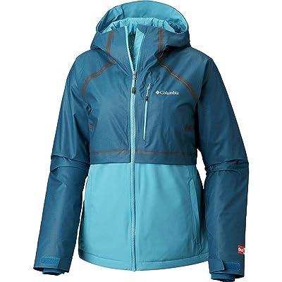 .com : Columbia Outdry Glacial Hybrid Jacket - Women's Lagoon Heather/Beta, XL : Sports & Outdoors