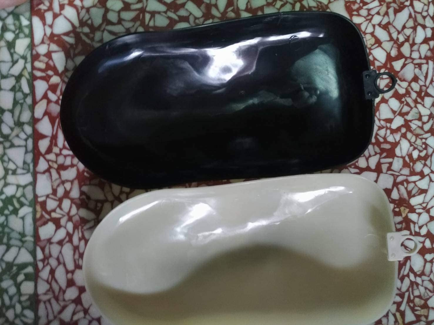 Black ABS Speed shape-10pcs pack For water transfer printing//hydro dipping and painting practicing and demonstration