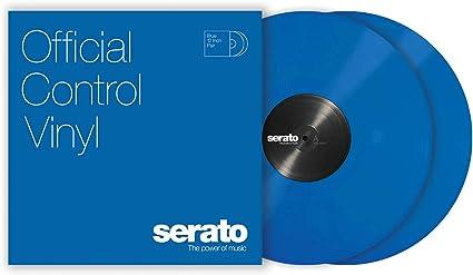 Serato SCV-PS-BLUE-2 - Plato de vinilo para tocadiscos (2 unidades ...
