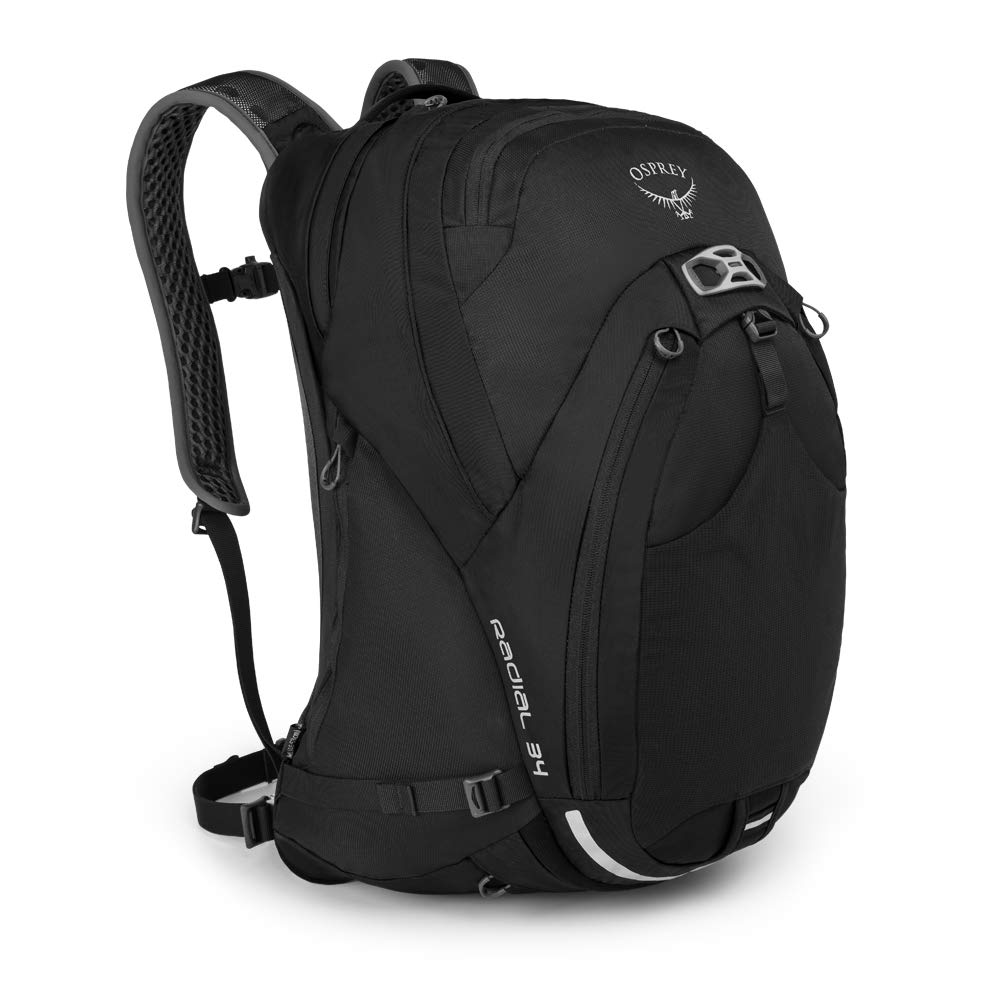 Osprey Packs Radial 34 Daypack, Black, Medium/Large