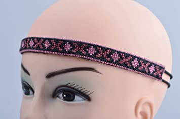 Amazon.com   Beautiful handmade textile headband cool hair bands fashion  accessories   Beauty f0a385030fd