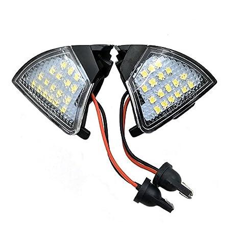 Foco LED de espejo lateral sin errores para Golf5 Mk5 MkV Passat B6 Jetta Eos