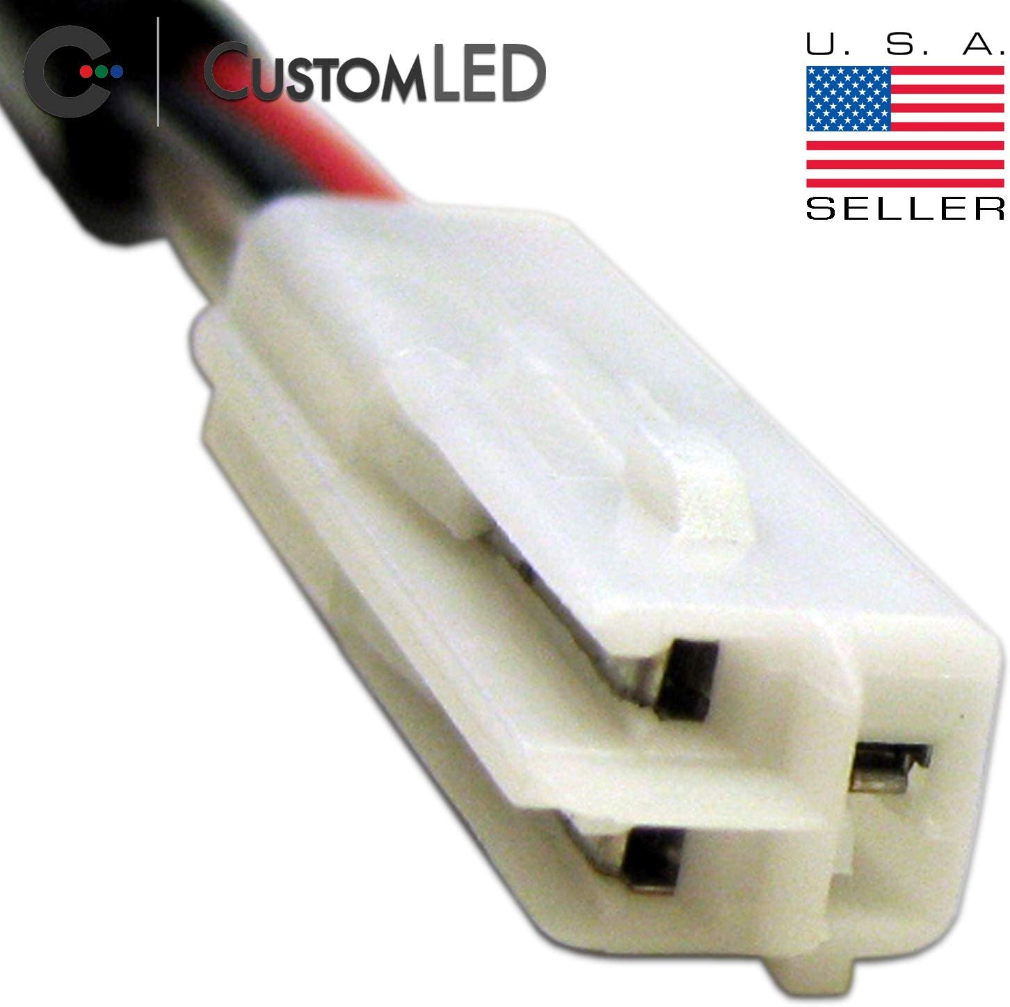 Amazon.com: OEM Turn Signal Connector Pair, 3-Wire, Fits Select Honda  Motorcycles: Automotive