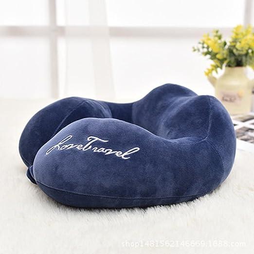 lylxs almohada de viaje con ergonómico en forma de U Cuello ...