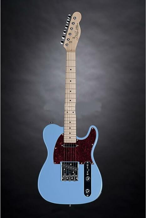 Guitarra eléctrica para niños Jack & Danny tl-mini SBL Sky Blue ...