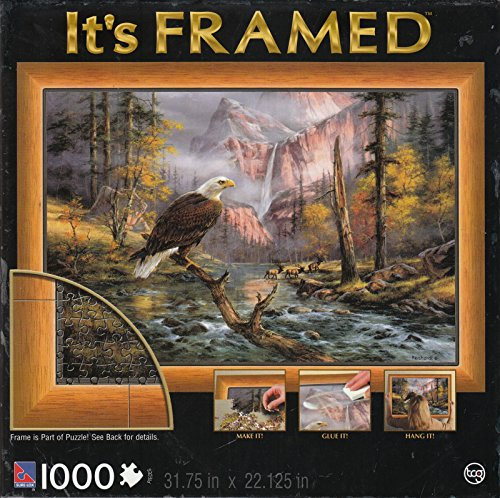 Its Framed 1000 Piece Puzzle - Eagle (Eagle Perch)