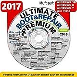 Recovery & Repair CD DVD für Windows 10 - 8 - Win 7 - XP - 32 & 64 bit