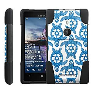 [ManiaGear] Rugged Armor-Stand Design Image Protect Case (Blue Turtle ) for Nokia Lumia 925