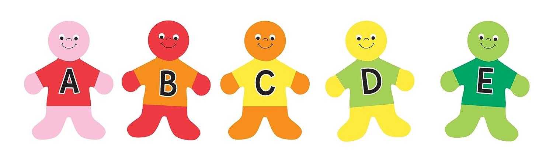 Hygloss niños alfabeto niños Hygloss aula acentos (30 unidades), 7
