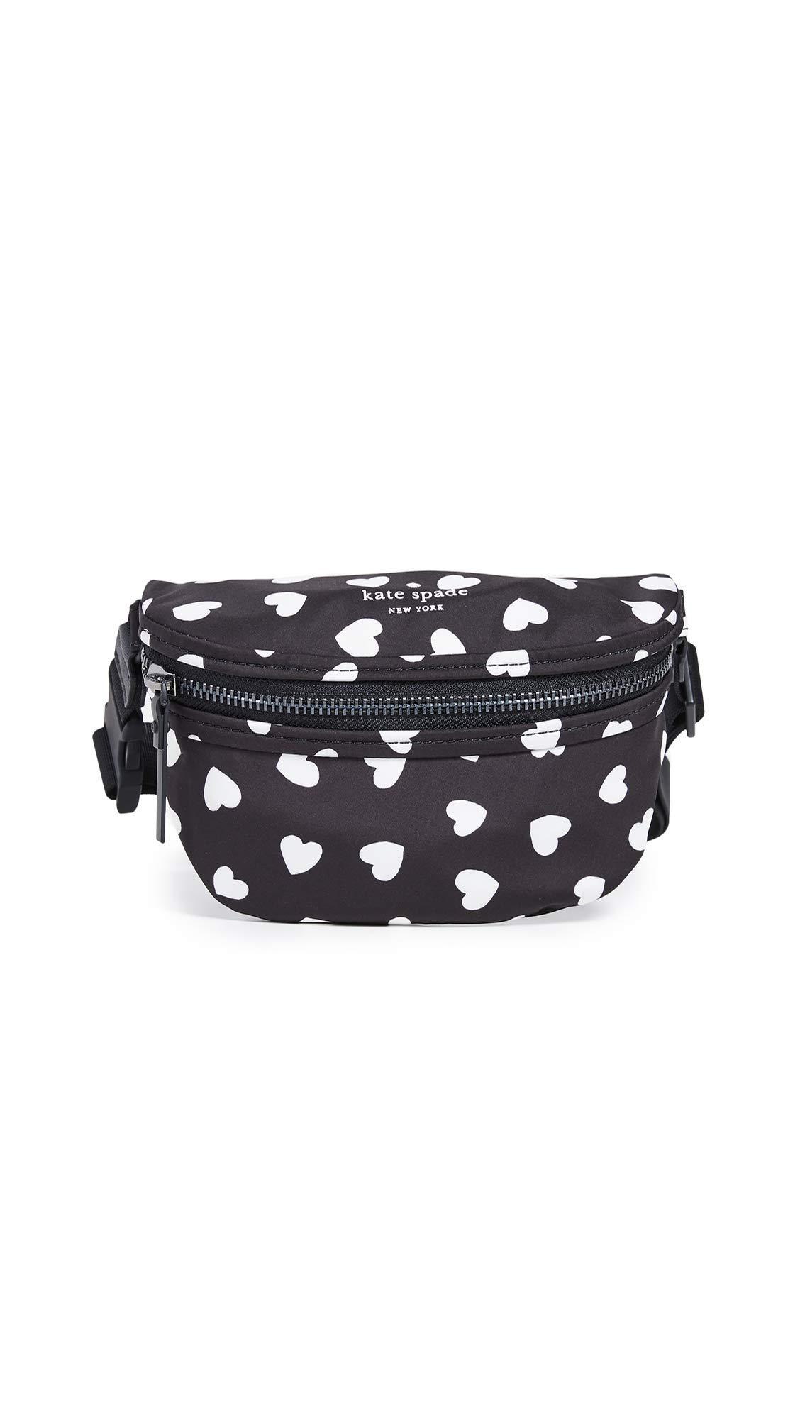 Kate Spade New York Women's That's The Spirit Belt Bag, Black/Cream, One Size