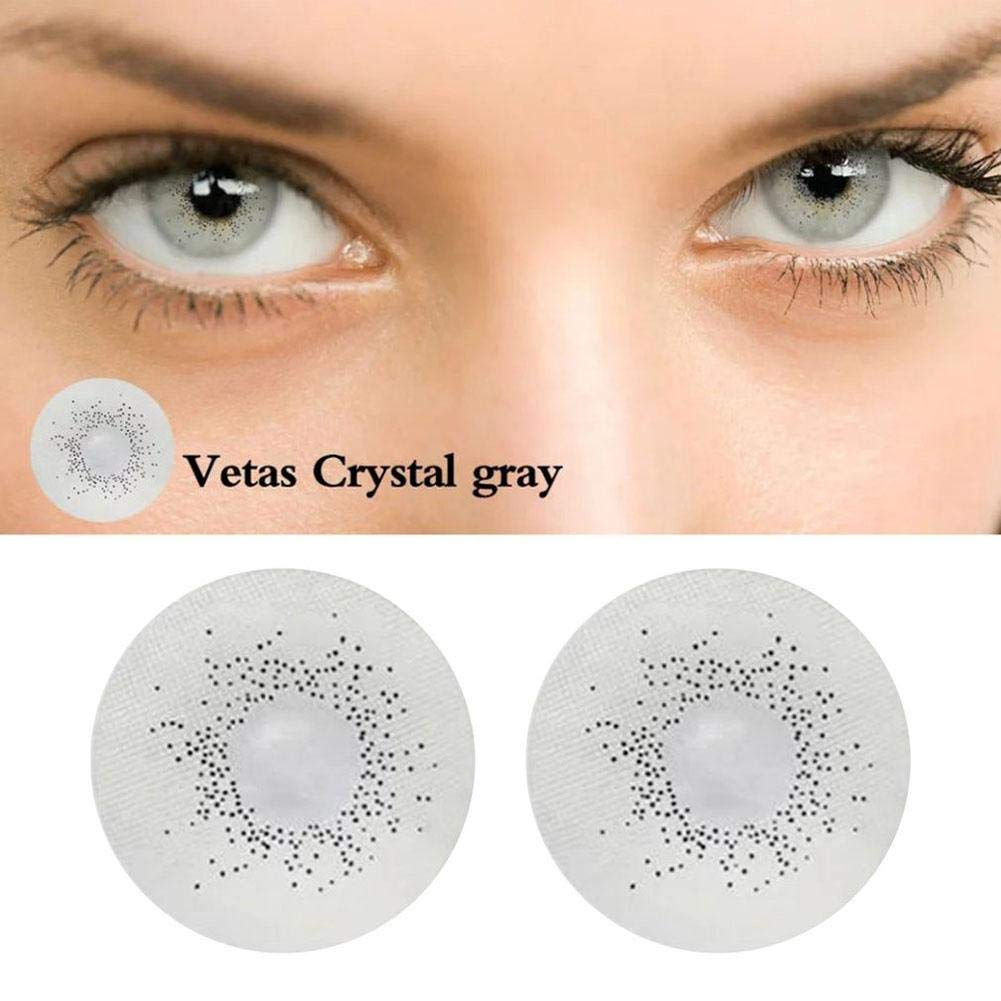 Biback Multi-Color Cute Contact Lenses Color Blends Cosplay Eyes Cosmetic Makeup Eye Shadow (A Pair)