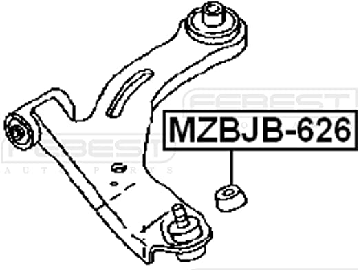 G03034565 Ball Joint Boot 18X34X23 Febest For Mazda