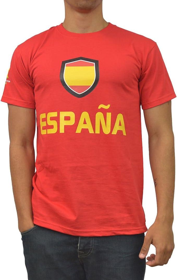 GB Sports - Camiseta para Hombre, diseño de España para la Copa ...