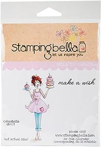 Stamping Bella Cakeabella Cling Stamp, 6.5