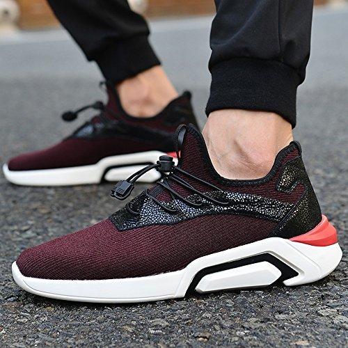 E Uk7 Bottom Eu40 Movement Tempo Libero Da Uomo Feifei Cn41 Taglia Scarpe Autunno Rosso colore Tide Colori Primavera Shoes 2 Fashion xwgIHnqvS