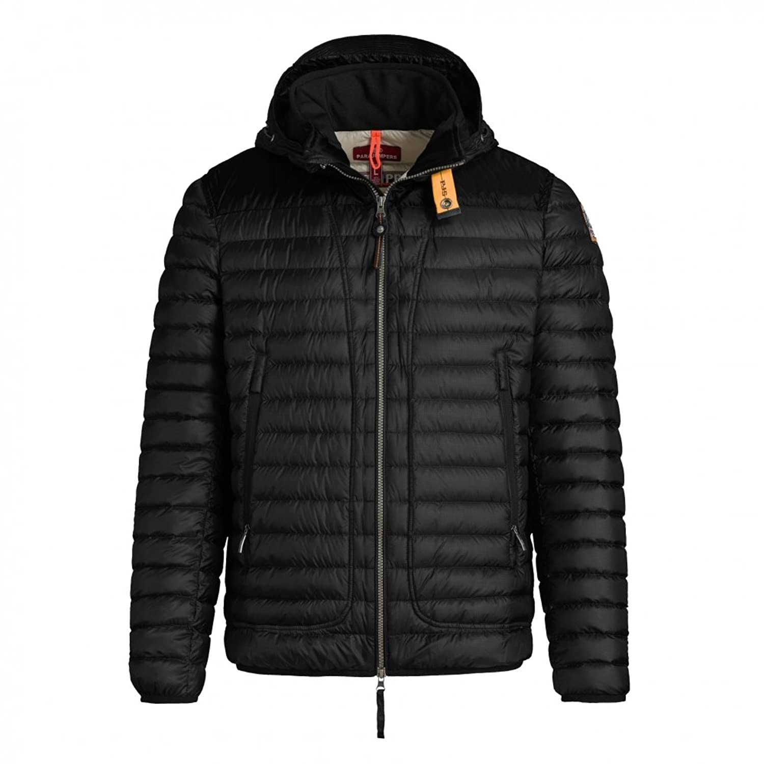 Parajumpers Men's Alvin Quilted Down Jacket Black