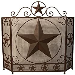 LL Home 21082 Metal Fireplace Screen by Marco International, Inc.