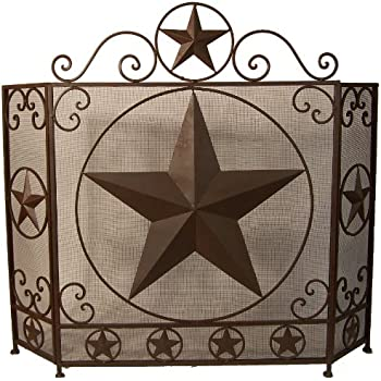 Amazon Com Ll Home Metal Star Fire Place Screen Home
