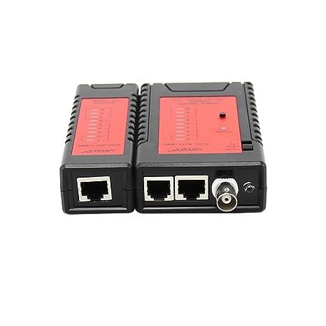Swiftswan Probador NF-468BL RJ45 RJ11 BNC Cable Tracker Probador de Cable de Red Probador