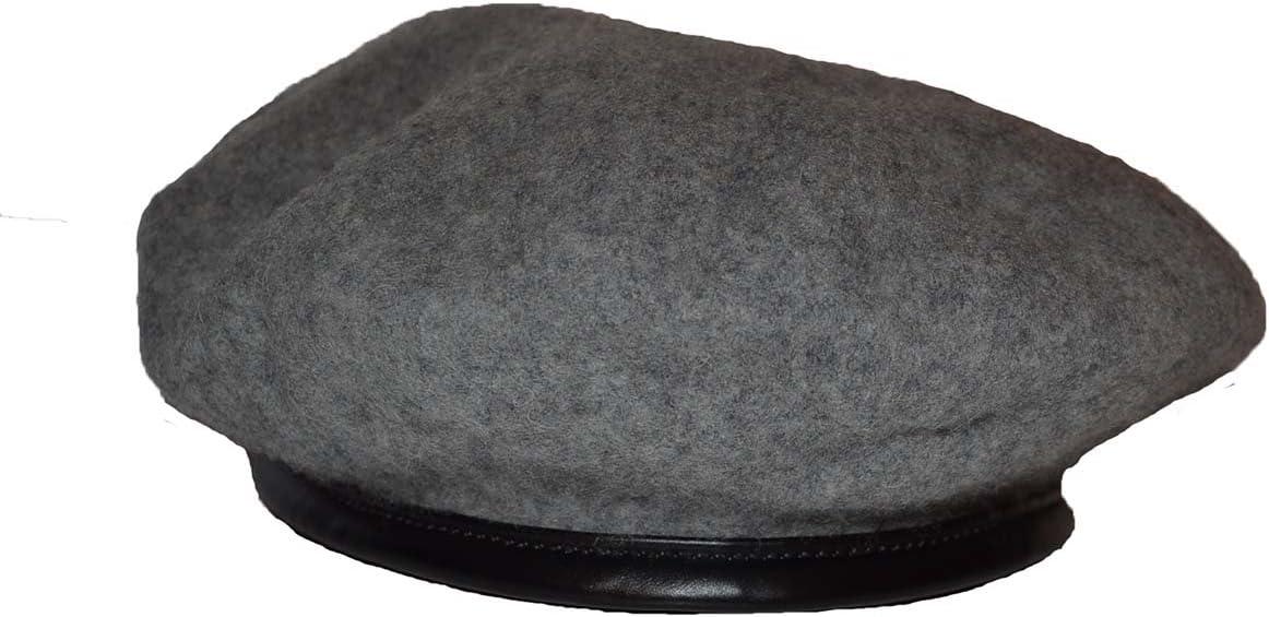 Boina moderna de 100% fieltro de lana de lujo de alta calidad con ribetes de piel sintética gris 150 x 80: Amazon.es: Jardín