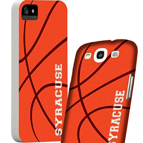Cellular Outfitter HTC ONE City of Syracuse Basketball Slim Polycarbonate Case/Cover -Orange & White