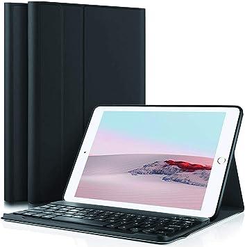 Funda con Teclado para iPad para iPad de 9,7 Pulgadas 2018 (6 ...