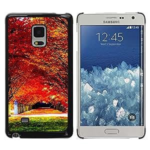 Paccase / SLIM PC / Aliminium Casa Carcasa Funda Case Cover - Nature Beautiful Forrest Green 78 - Samsung Galaxy Mega 5.8 9150 9152