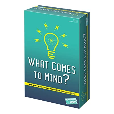What Comes to Mind? - Matching Card Game - 2020 Edition: Toys & Games