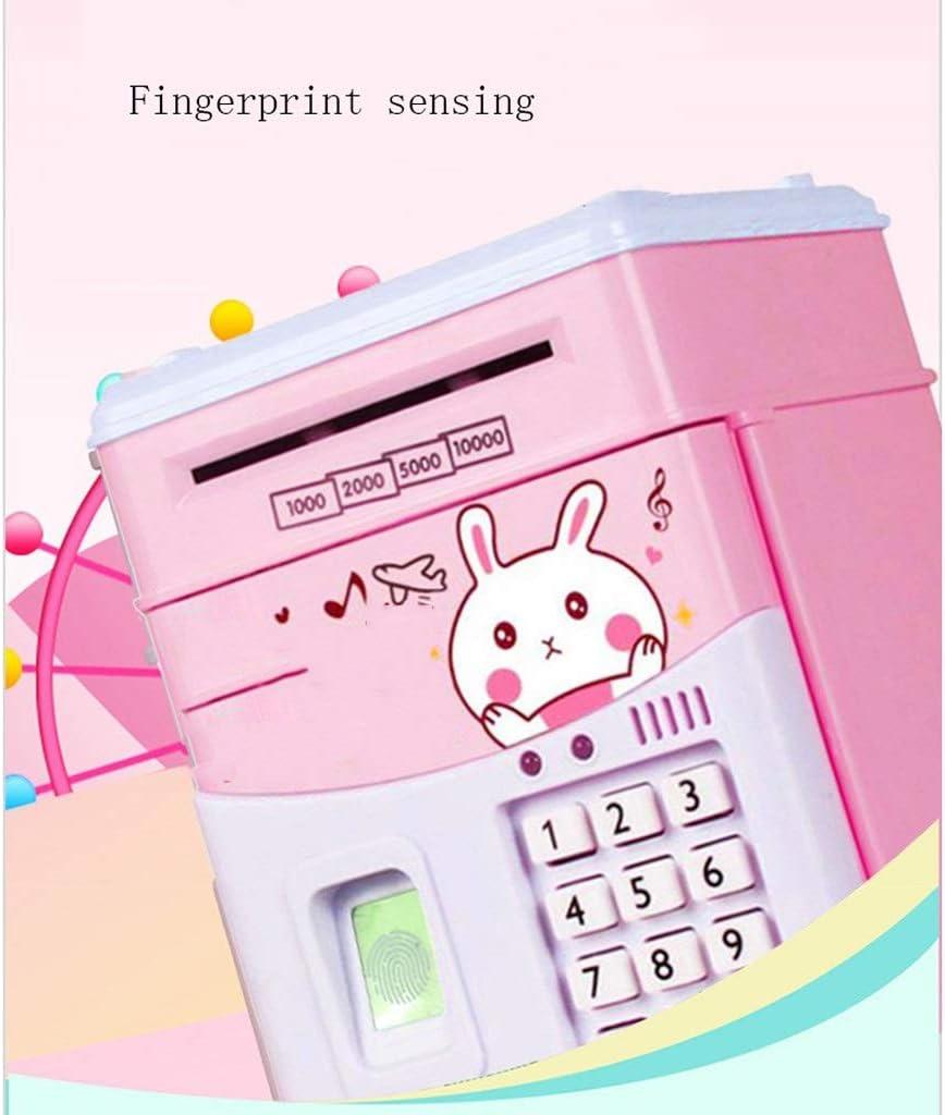 Tirelires Empreinte digitale cr/éative bonne nuit lapin tirelire grand nombre mot de passe /électronique tirelire