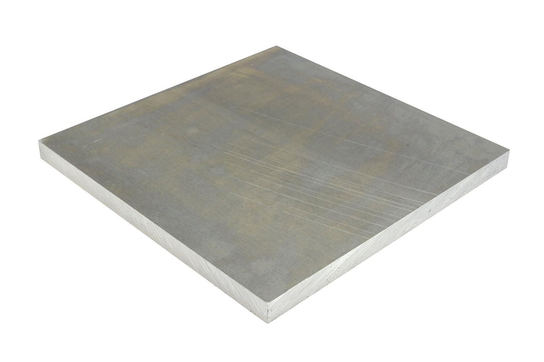 """1//4/"""" x 1/"""" Aluminum Flat Bar 4/"""" Length 6061 Plate 0.25/"""" T6511 Mill Stock"""